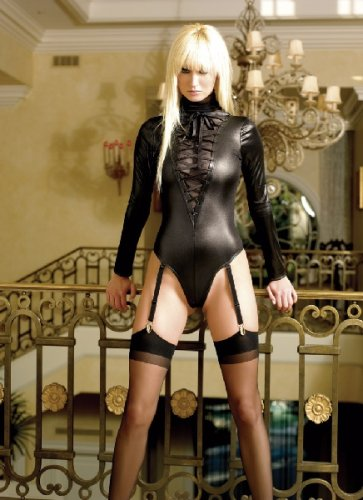Mistress autumn in thigh high black boots dominates male 2