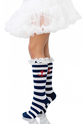 Sailor Socks for girls