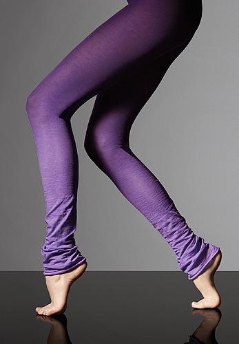 Max Mara Edera Purple Leggings
