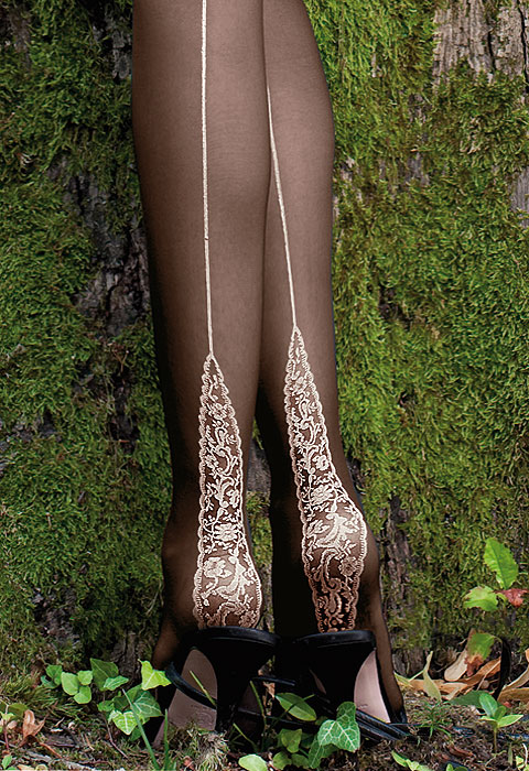 Angie Seamed Tights