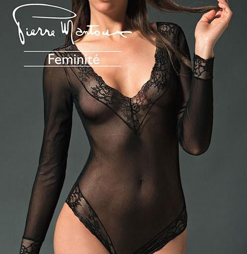 Pierre Mantoux Feminite Haute Couture Des Jambes Bodystocking