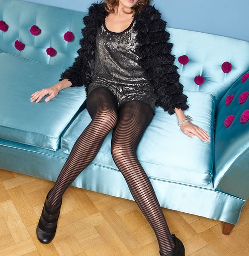 ladders opaque tights