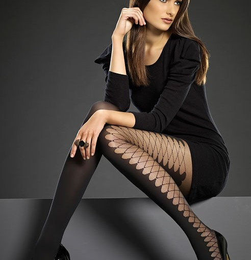 laced side tights