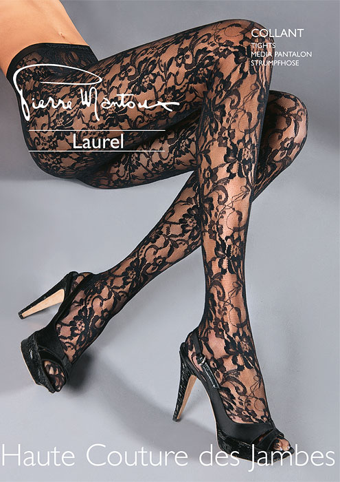 Pierre Mantoux Lace Tights