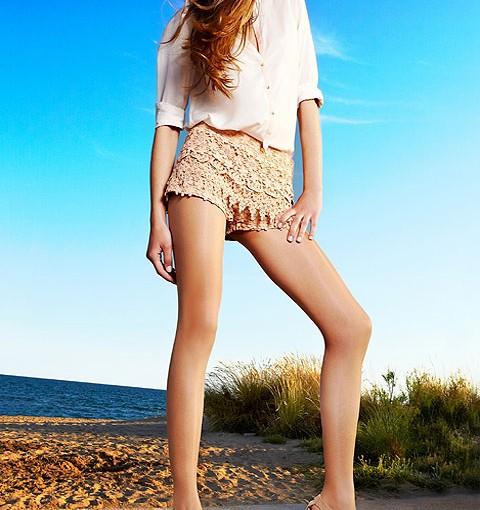 Sevilla Summer Tights Ultra Sheer Tanned Leg Look