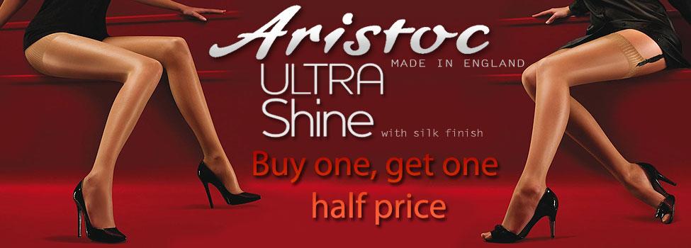 ee1fce930 Aristoc Ultra Shine Offer Silk Finish Buy One Get One Half Price