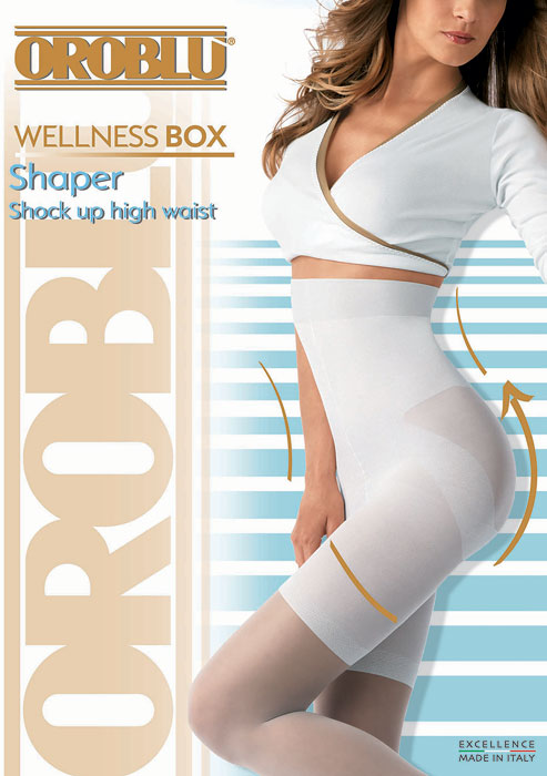 Oroblu Wellness Shaper Shock Up High Waist Tights at UK Tights