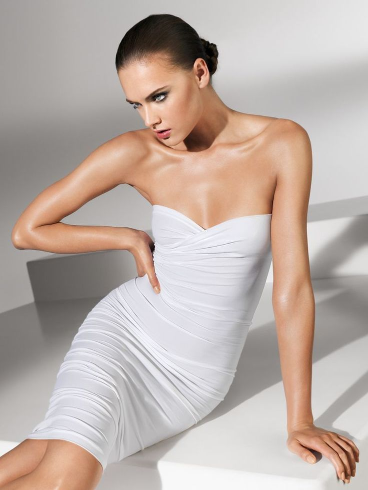 Wolford fatal dress - White