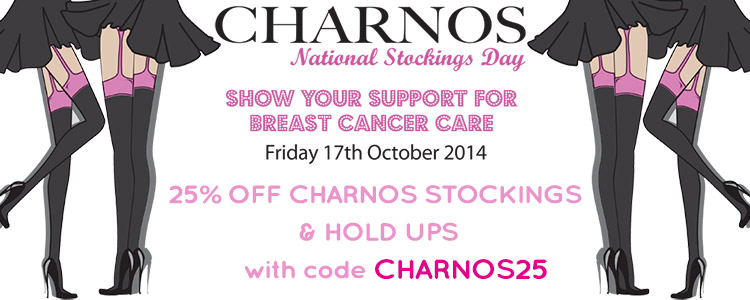 Charnos Hosiery are Celebrating National Stockings day 17th October 2014
