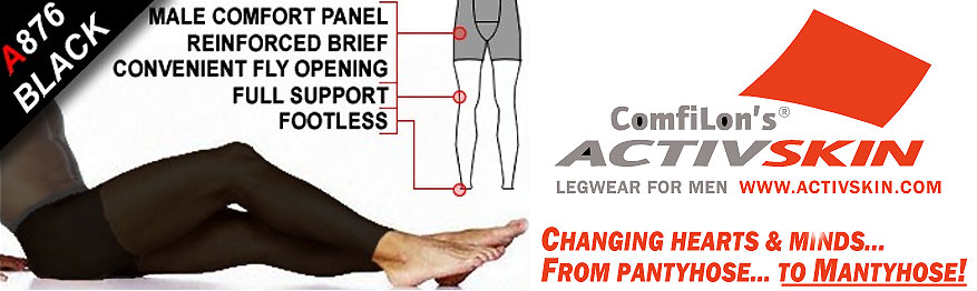 Activskin Thermofabric Opaque Full Support With Fly Footless Tights