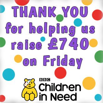 Thank you Children In Need