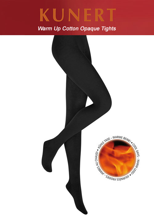 Kunert Warm Up Cotton Opaque Tights