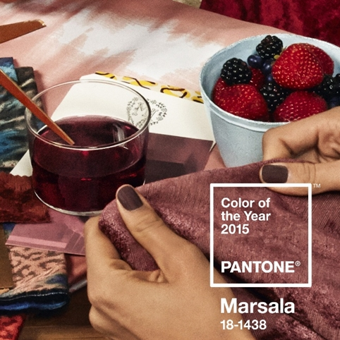 Marsala colour 18-1438 pantone colour of the year 2015