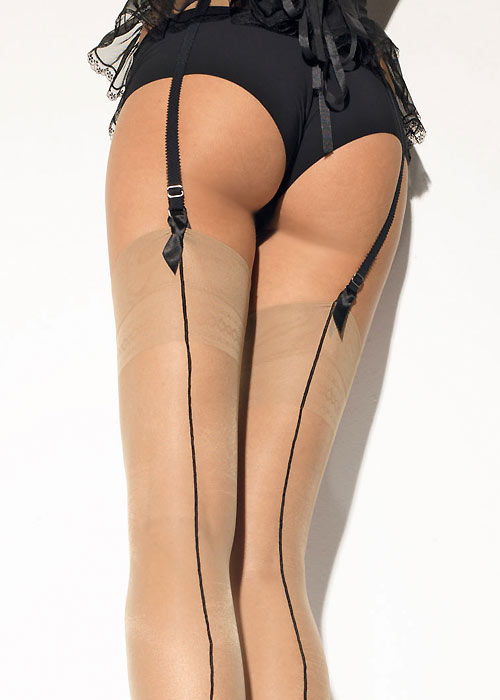 Girardi Chantal Rigo Signature Backseamed Stockings