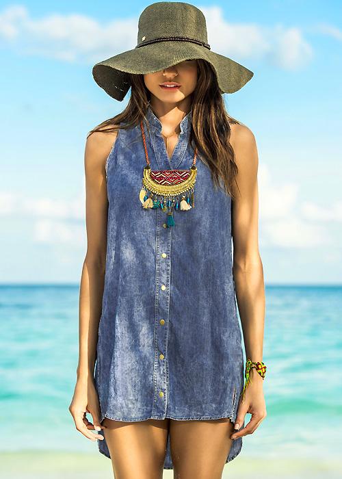 Phax Denim Sun Dress