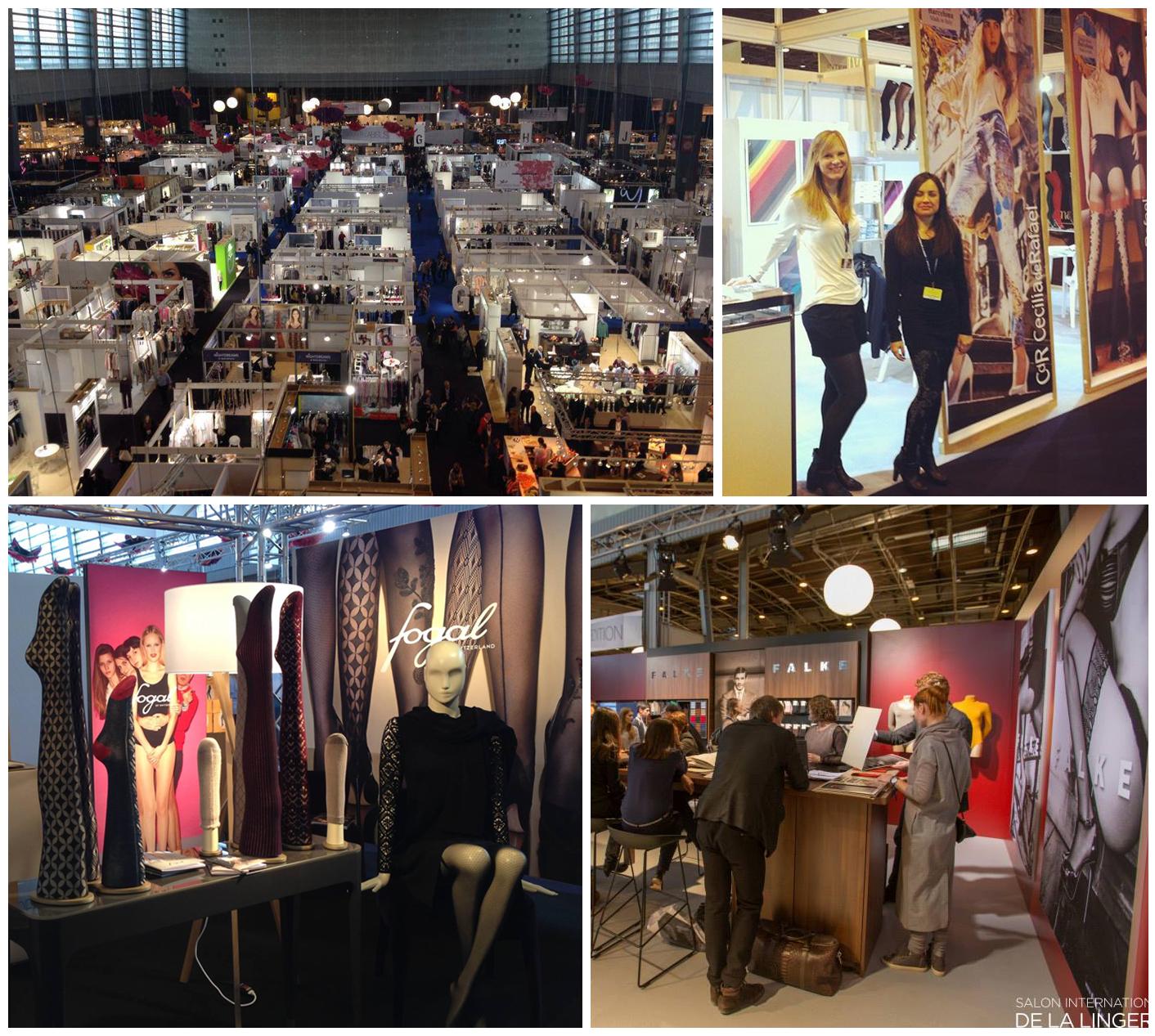 Salon International de la Lingerie hosiery brands