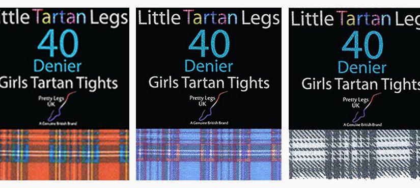 children tartan tights