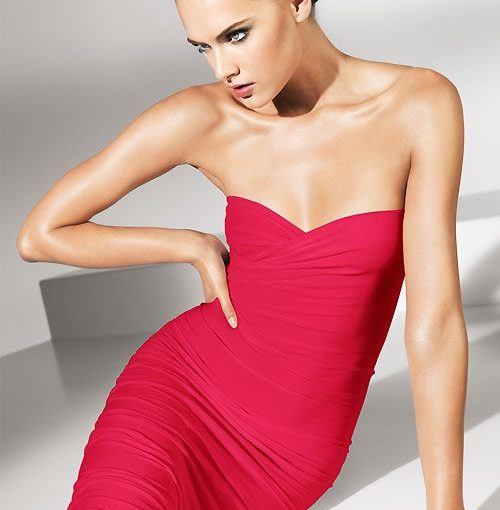 Wolford Fatal Dress Red