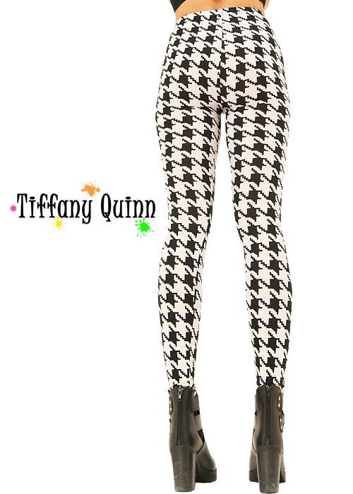 Tiffany Quinn Houndstooth Check Leggings