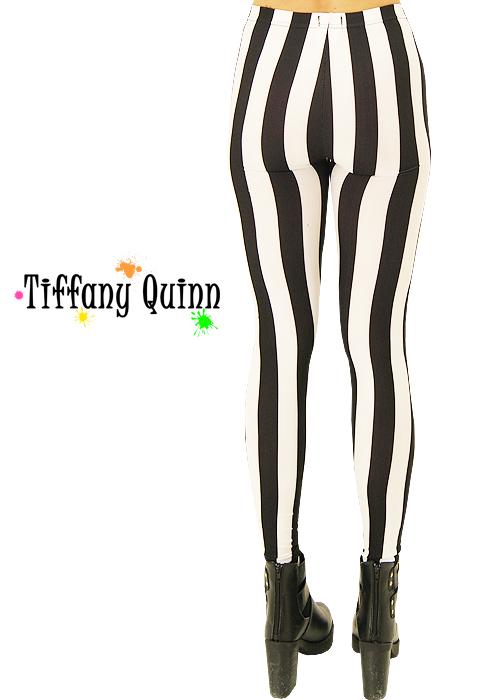 Tiffany Quinn Vertical Stripe Leggings