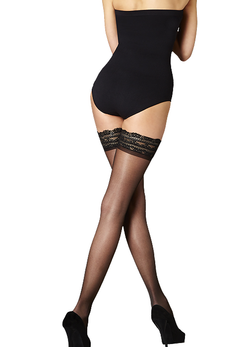 retty Legs Nylons Luxury Lace Top Hold Ups