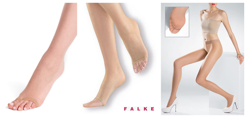 Hosiery for Weddings and occasion wear - toeless