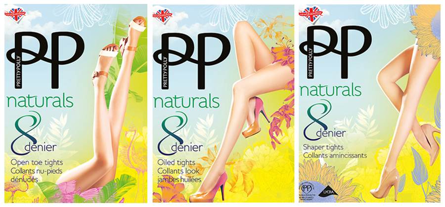 Pretty Polly Naturals collection