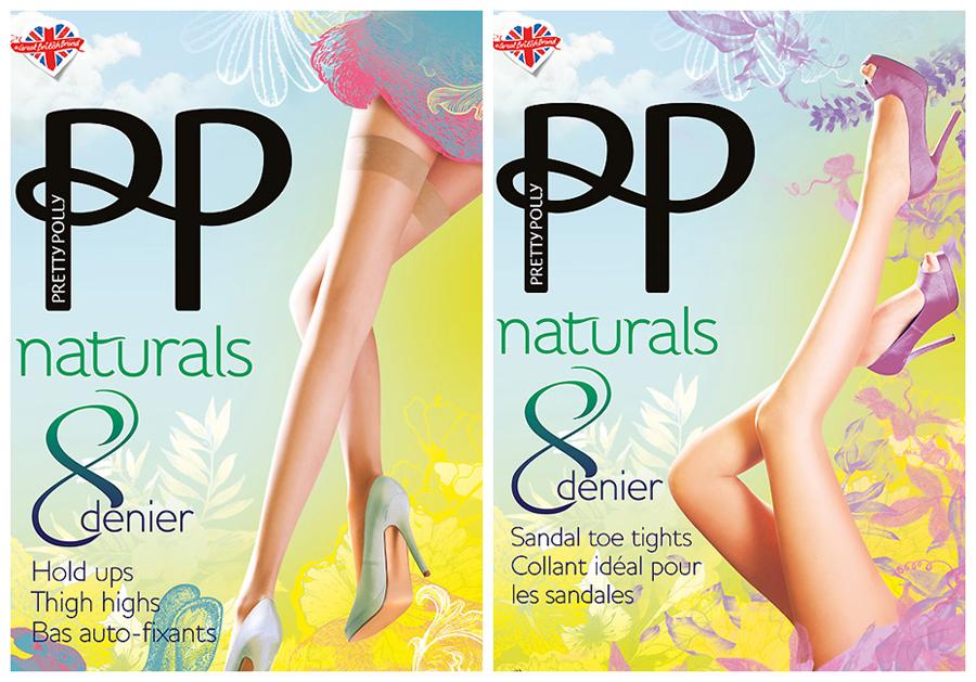 Pretty Polly Naturals hold ups & tights