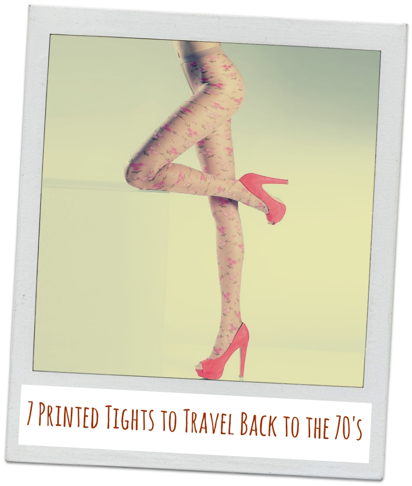 7 printed tights to travel back to the 70s