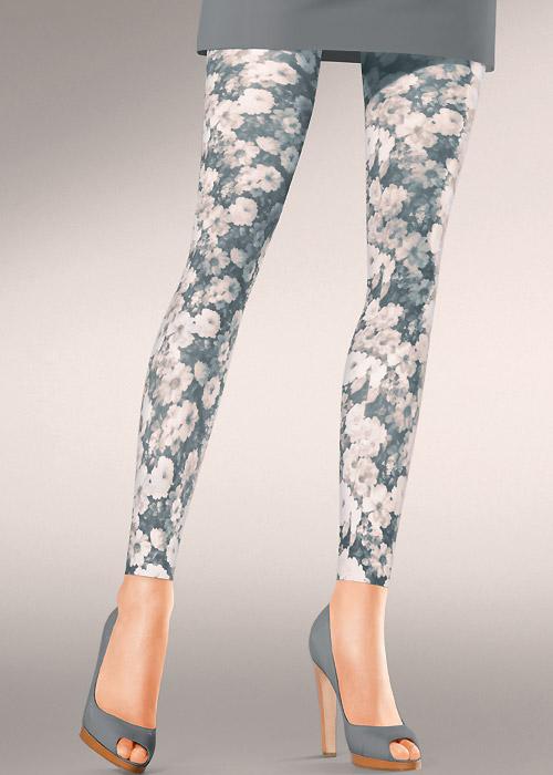 Kunert Fashion Bouquet Footless Tights