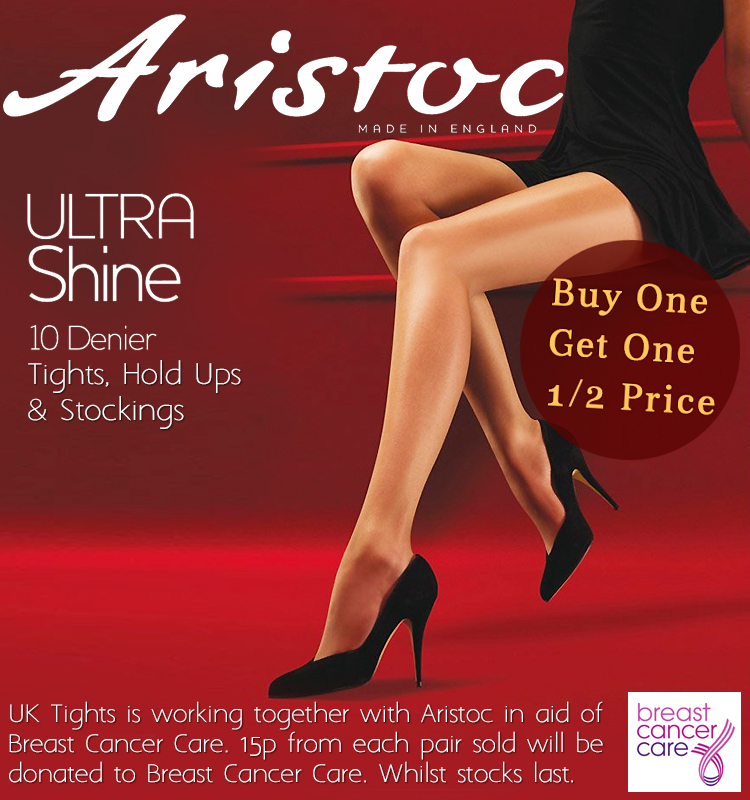 Aristoc Ultra Shine 10 Denier Tights, Hold Ups and Stockings