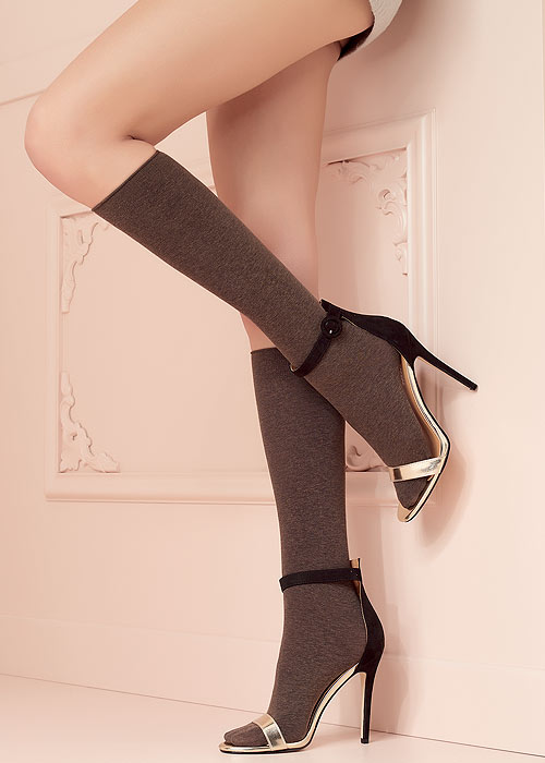 Trasparenze Wilma Cotton Knee Socks