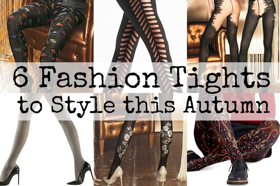 Six autumn fashion tights aw15