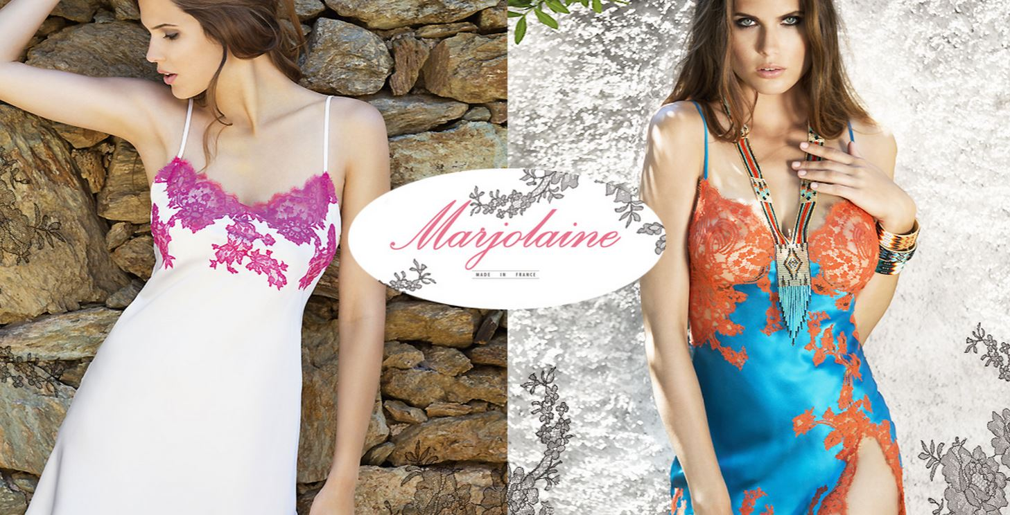 Marjolaine lingerie and nightwear official site