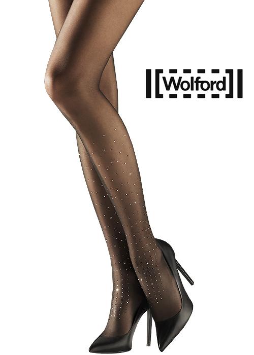 Wolford Cara Crystal Embellished Tights