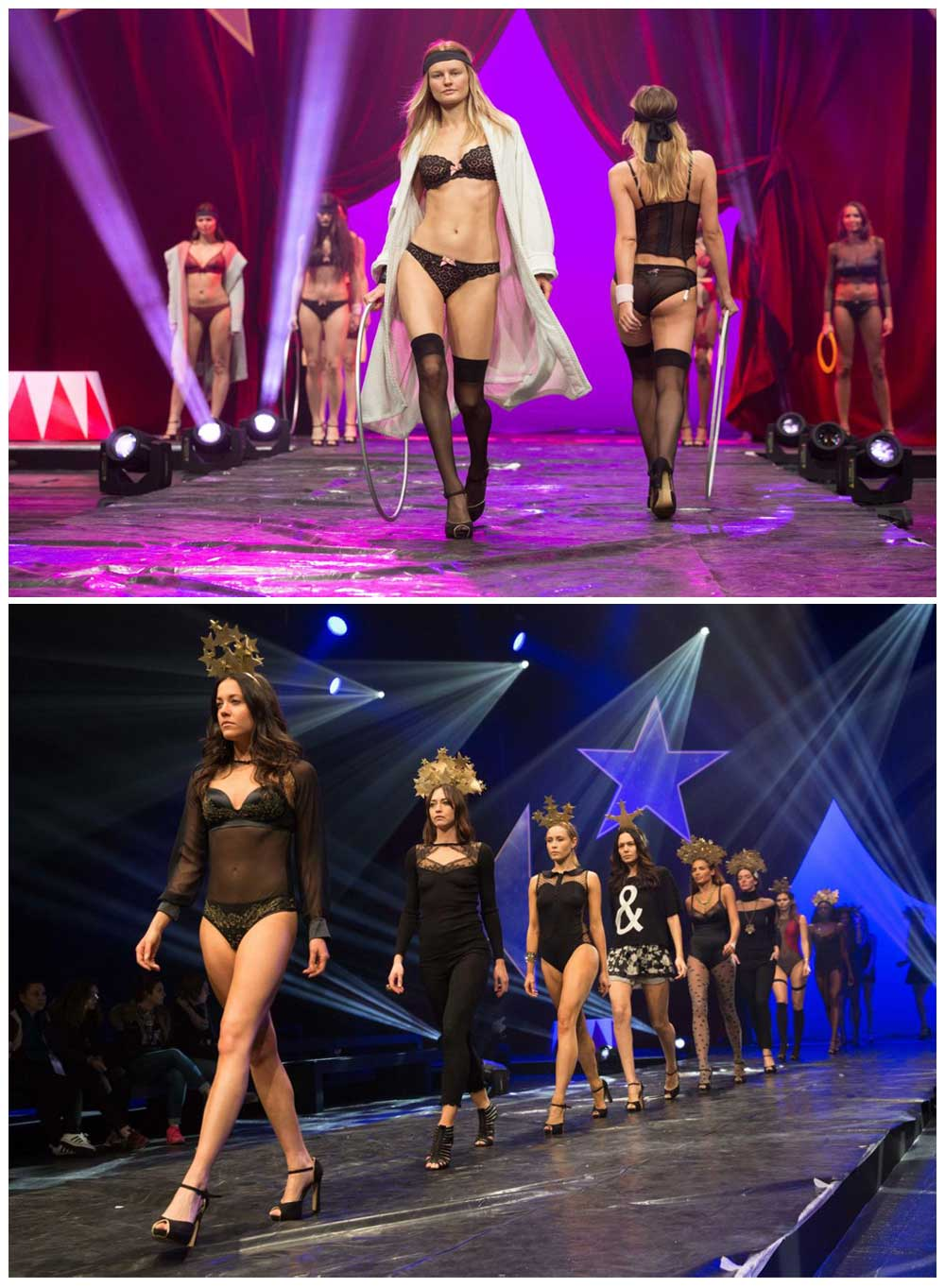 Paris Salon de la lingerie 2016 catwalk