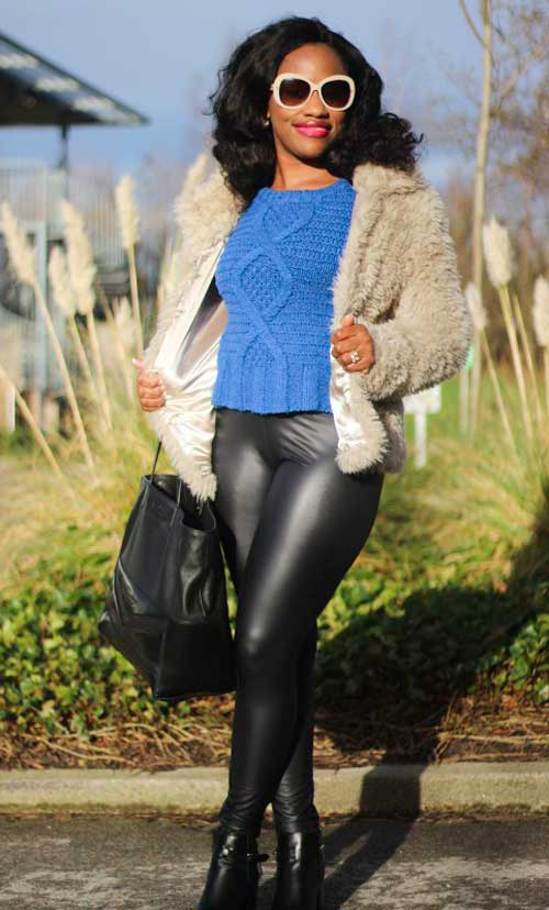 Fashion-and-style-police-leather-look-leggings