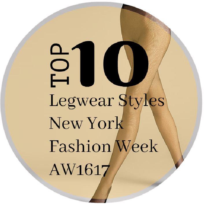 Top 10 legwear styles NY fashion week AW16