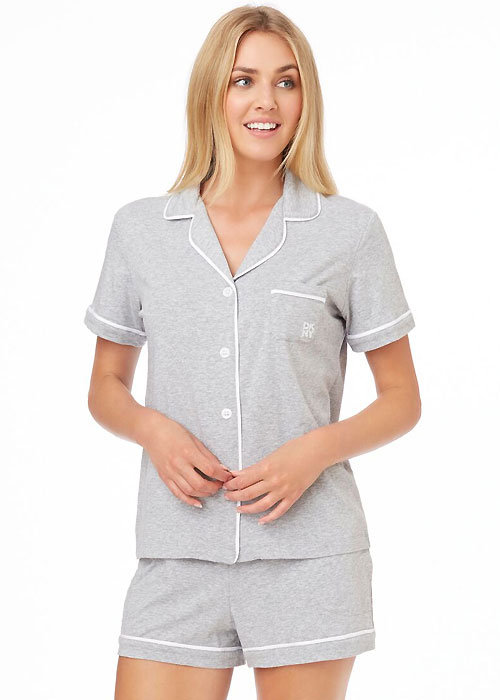 DKNY-Signature-Collection-Short-Pyjama-Set-grey