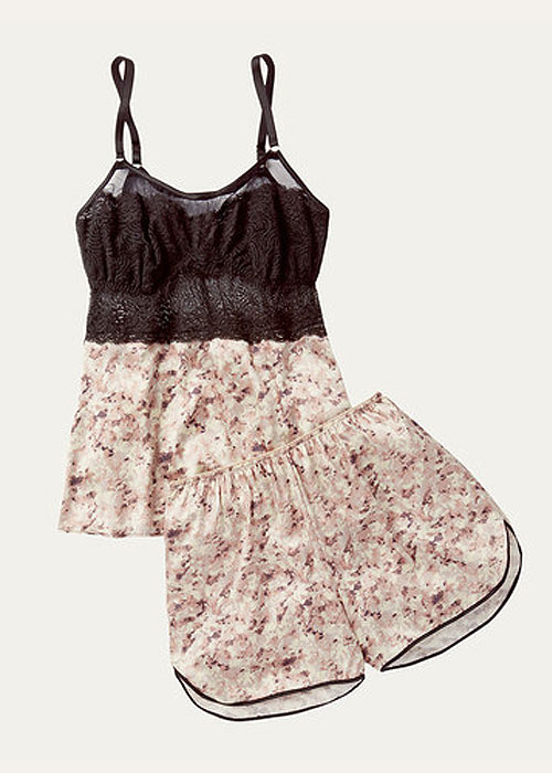 Nui-Ami-Paris-Print-Camisole-and-shorts-uk-lingerie