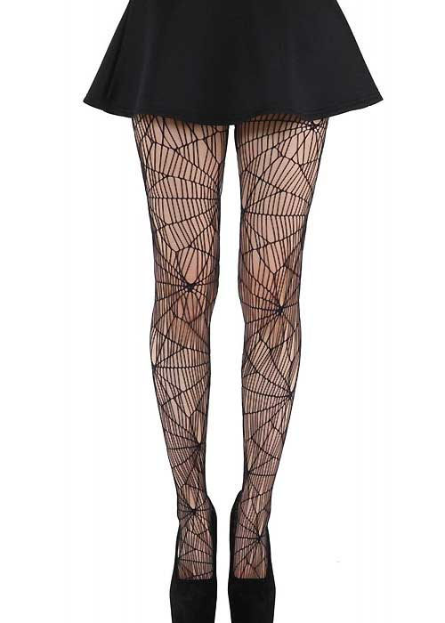 pamela-mann-cobweb-pattern-net-tights-Halloween