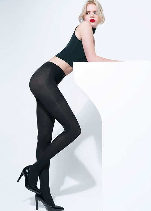 Thick winter tights with thermo energy technology to keep your legs warm in the coldest days