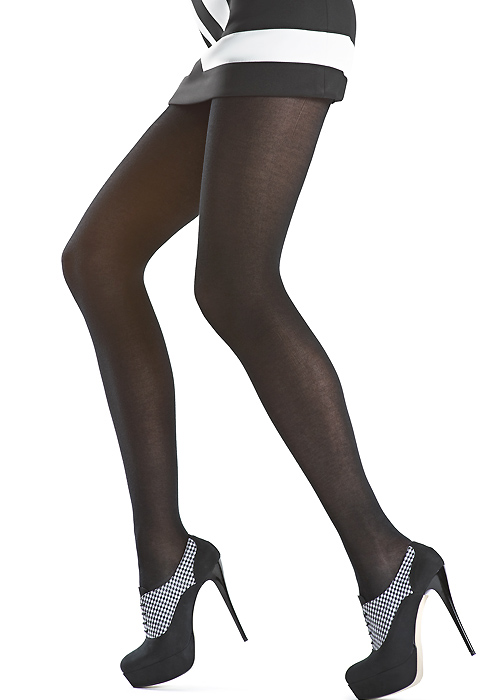 oroblu micromodal natural fibres tights black