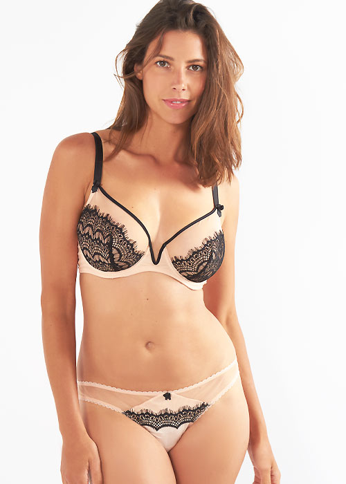Mimi Holliday Bisou Bisou Zoo Comfort Bra and matching brief