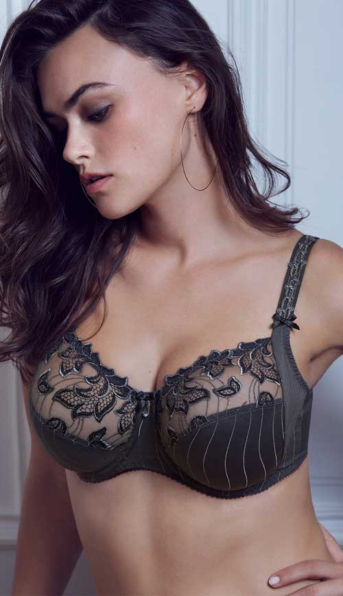 PrimaDonna Deauville Bra Winter Grey - Available up to UK40 H Cup