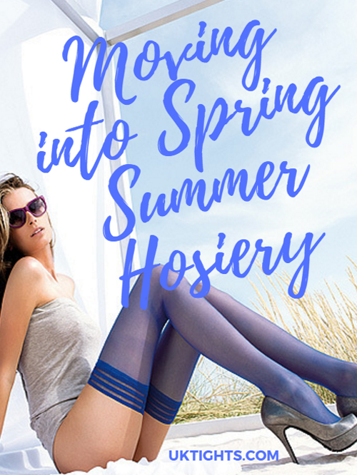 bare leg or tights on? Moving into sprint summer hosiery