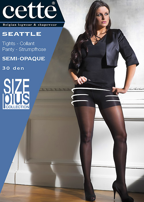 Cette Seattle 30 Plus Size Shaping Tights