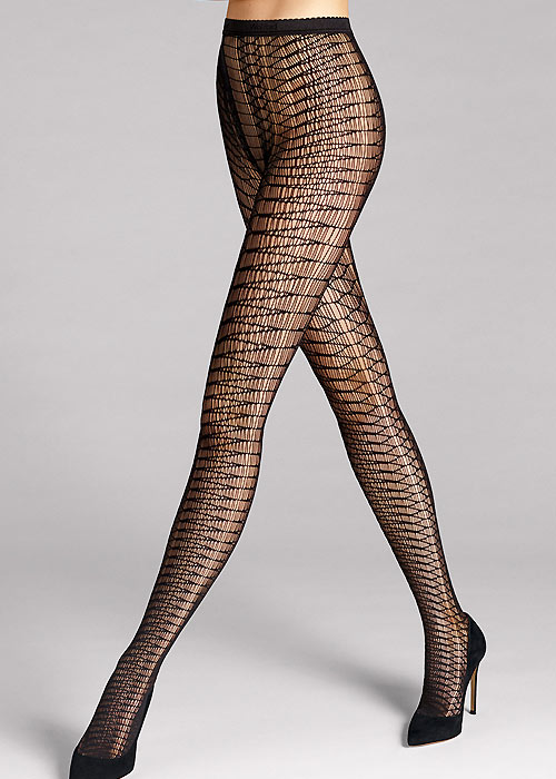 Wolford Banua Patterned Tights