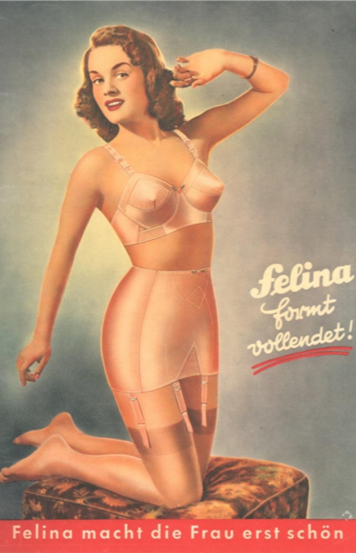 Felina bras 1950s