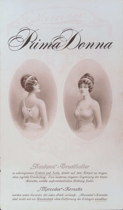 PrimaDonna Advertising Bras and Corsets in the 1900